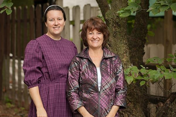 Anita Keagy and her daughter