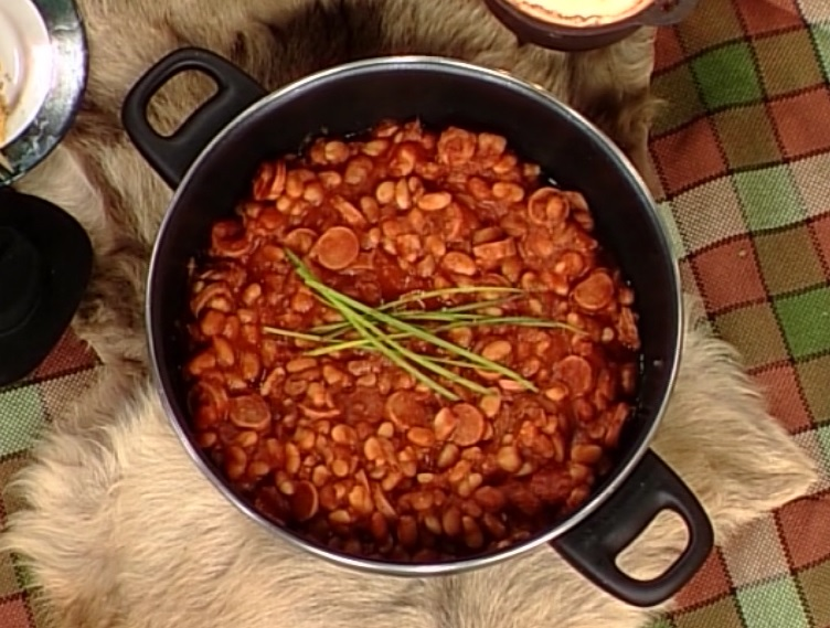Round up Baked Beans