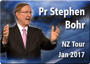 Pr Stephen Bohr - NZ Tour