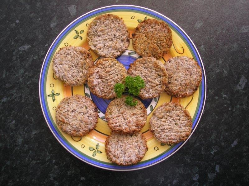 Sinflower Seed Patties