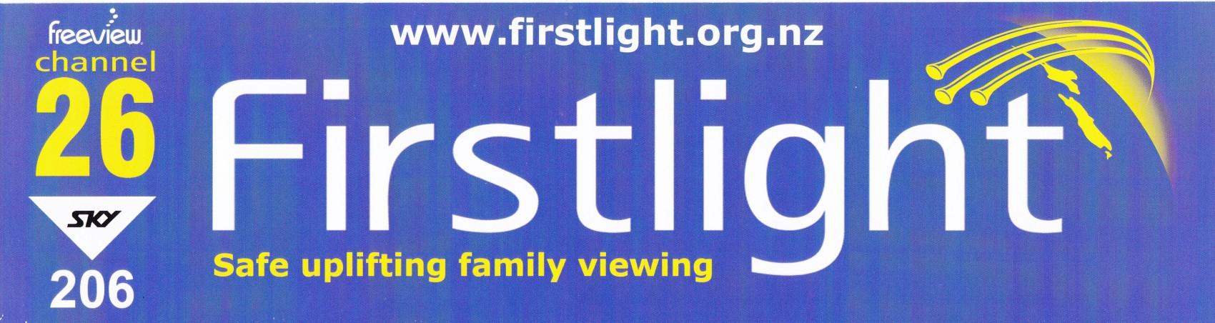 Firstlight Bumper Sticker